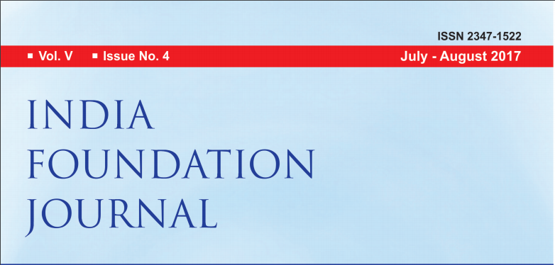 India Foundation Journal Issue No. 4 – Vol V