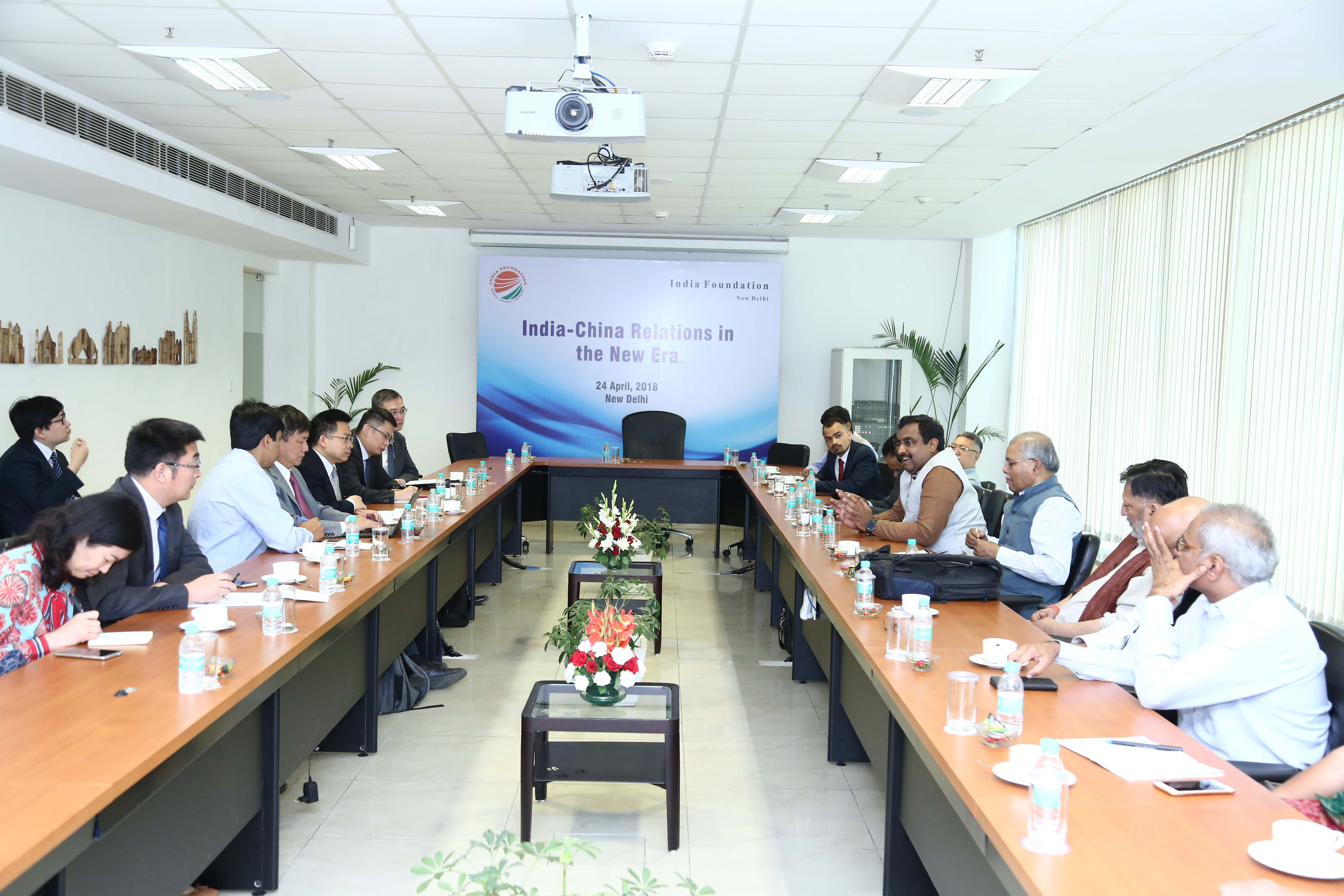 India Foundation's Bilateral Interaction with Chinese Delegation